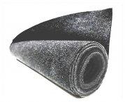 Bezugsfilz / Bespann-Stoff für Boxenbau XL grau