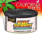 California Scents CarScents air fresh Lufterfrischer - Strawberries Cream