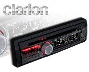Clarion Autoradio CZ215E CD USB AUX