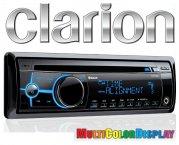 Clarion Autoradio CZ702E inkl. Bluetooth Freisprecheinrichtung