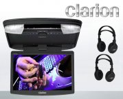 Clarion VT1510E 15 LCD/TFT Deckenmonitor mit DVD-Player