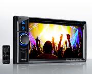 Clarion VX404E Autoradio mit Bluetooth Smartphone Navigation