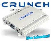 Crunch GTI Auto Verstärker Endstufe GTI-4100