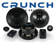 Crunch Gravity 2-Wege Auto Lautsprecher System GTX-6.2C