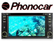 Phonocar Toyota 6.5 Tochscreen Multimedia Station DVD Bluetooth USB GPS