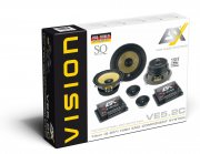 ESX Vision 2-Wege Auto Lautsprecher System VE5.2C