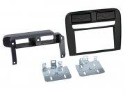 Radioblende Einbaurahmen 2-DIN Komplettset Fiat Grande Punto schwarz