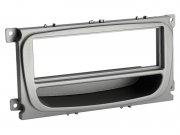 Radioblende mit Ablagefach Ford Mondeo Focus S-MAX silber