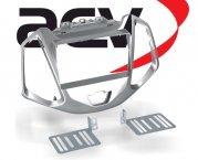 Radioblende Radiorahmen 2-DIN Ford EcoSport ab 2014 silber
