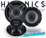 Hifonics Zeus 2-Wege Koax Lautsprecher ZSi-62