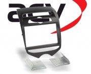Radioblende Doppel-DIN Hyundai ix20 matt-schwarz