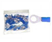 Kabelschuhe Ring 8,4mm blau 100 Stück