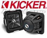 Kicker Subwoofer SoloBaric L7 S10L74 2x 4ohm 1200W 25cm