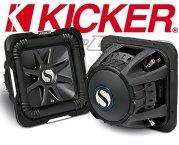 Kicker Subwoofer SoloBaric L7 S15L74 2x 4ohm 2000W 38cm