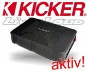Kicker active Subwoofer Bassbox Hideaway HS8