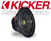 Kicker Subwoofer Bass CompD CWD104 2x 4ohm 600W 25cm