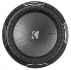 Kicker Subwoofer Bass Comp-Q CWQ124 2x 4ohm 1700W 30cm
