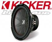 Kicker Auto Subwoofer Bass CWR124-43 2x 4ohm 1000W 30cm