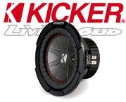 Kicker Auto Subwoofer Bass CWR82-43 2x 2ohm 600W 20cm