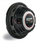 Kicker Subwoofer flach CompRT CWRT101-43 2x 1ohm 800W 25cm