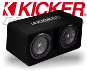 Kicker Subwoofer Bassbox 43DCompR10 DCWR102-43 1600W