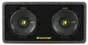 Kicker Subwoofer Bassbox DCompS10 DCWS102 2ohm 1200W 25cm