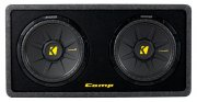 Kicker Subwoofer Bassbox DCompS12 DCWS122 2ohm 1200W 30cm