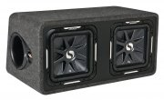 Kicker Dual-Bassreflex Subwoofer Box DS12L72 3000W