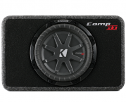 Kicker Subwoofer TComp RT102  flache Bassbox