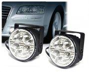 LED Tagfahrlicht Tagfahrleuchten rund nachrüsten Typ DRL7R-1W