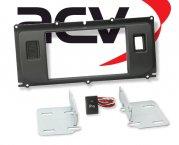 Radioblende Doppel-DIN Einbaukit Land Rover Evoque mit PDC ab 2011 anthrazit