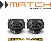 Match Auto Lautsprecher Koax 100mm 30W MS4x