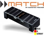 Match 1-Kanal Plug&Play Bass Subwoofer Verstärker Endstufe PP 1SUB