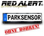 Einparkhilfe Nummernschildhalter mit integr. Parksensoren ohne bohren