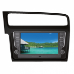 Phonocar VW Golf 7 Navi 8 Tochscreen DAB+ DVD Bluetooth USB GPS schwarz