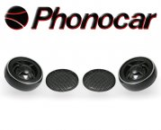 Phonocar Hochtöner Tweeter Pro-Tech 200W 2/419