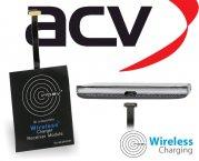Inbay Qi induktiver Empfänger Ladeempfänger Micro USB oben