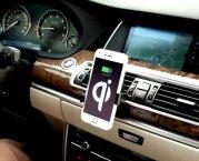 Inbay Qi Universal Ladestation Ladegerät Induktions-Ladegeraet Handyhalter Lüftungsschlitz
