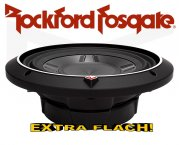 Rockford Fosgate Punch P3 Subwoofer P3SD410 extra flach