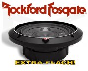 Rockford Fosgate Punch P3 Subwoofer P3SD48 extra flach