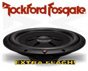 Rockford Fosgate Prime R2 Subwoofer R2SD2-12 extra flach
