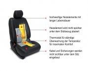 2-Stufen Sitzheizung nachrüsten für 1 Auto Sitz CSH1-1