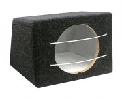 Bassbox Leergehäuse für 12-Subwoofer Bass 45 Liter