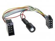 Radioadapter Autoradio Adapter mit Spannungsstabilisator für Start-Stopp ISO