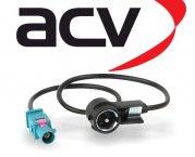 Antennenadapter ISO für Audi Mercedes Seat Skoda VW Fakra ISO