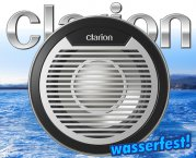 Clarion Marine Subwoofer CMQ2510W wasserfest!
