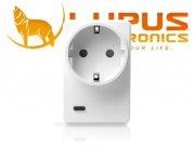 LUPUSEC Funksteckdose mit Stromzähler und Repeater