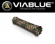 ViaBlue Geflechtschlauch Cable Sleeve Kabelschutzschlauch Army Medium Meterware
