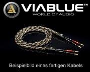 ViaBlue Geflechtschlauch Cable Sleeve Kabelschutzschlauch Stone Small Meterware