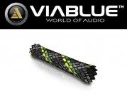 ViaBlue Geflechtschlauch Cable Sleeve Kabelschutzschlauch Neon Small Meterware
